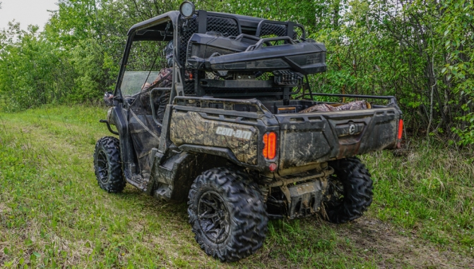 2017 Can Am Defender Mossy Oak Hunting Edition