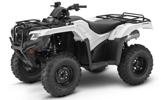 Honda ATVs: 2019 Honda FourTrax Rancher