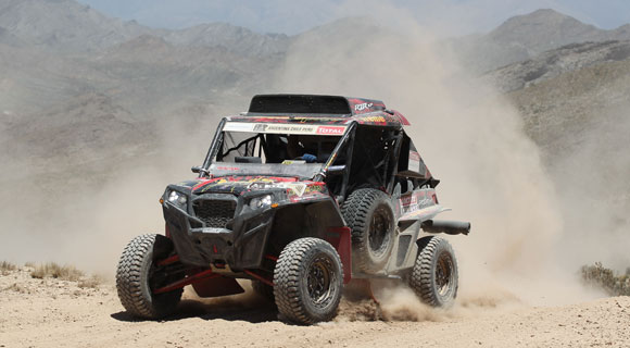 Polaris RZR XP 900 wins 2012 Dakar