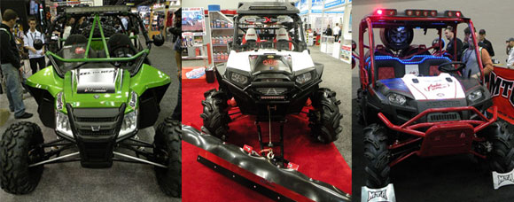 Top 10 UTVs and ATVs at Dealer Expo