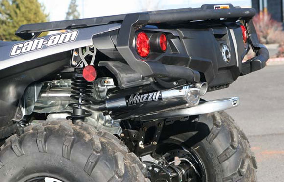 Muzzys Slip-on Exhaust for the Can-Am Outlander 1000