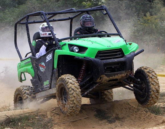 Mike Lasher Teryx with GBC Dirt Commander Tires