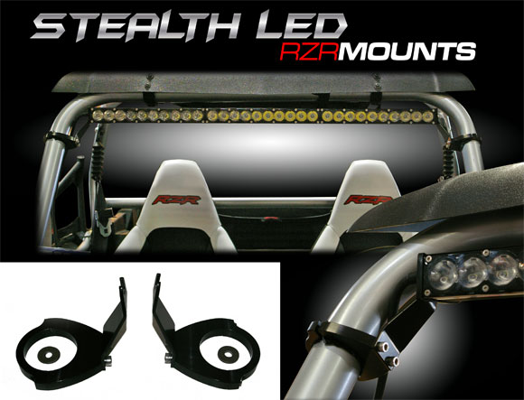 Baja Designs Stealth LED RZR Mounts