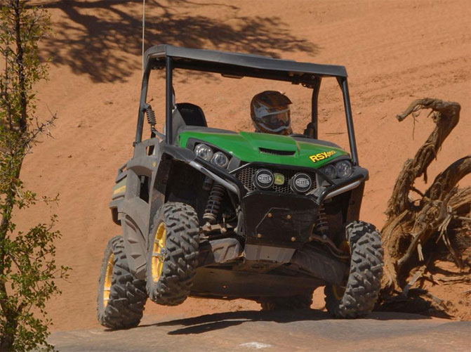 With a hefty $14,999 price tag, the Gator RSX850i Sport ranks among the most expensive UTVs in the industry.