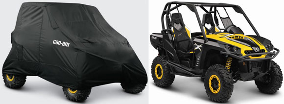 2013 Can-Am Commander Comparison