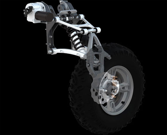 Gibbs Quadski Suspension