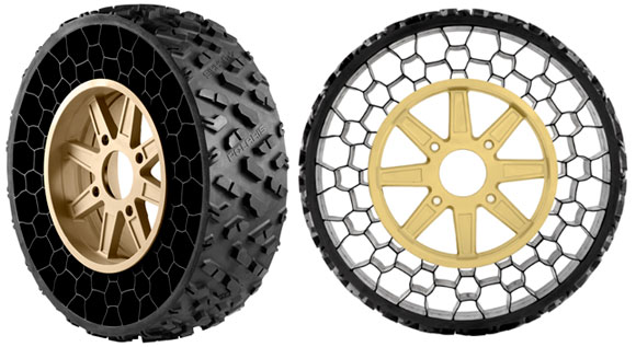 Polaris Defense Non-Pneumatic Tires