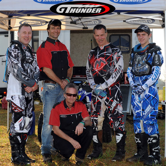 Glen McConnell, Tom Wright, Laz Sommers, Dave Simmons, Brayden Shick