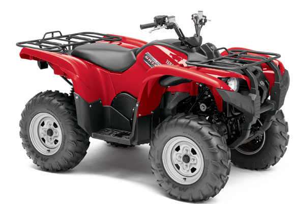 2013 Yamaha Grizzly 700 EPS Red