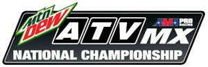 2013 AMA ATV MX Logo