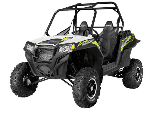 2013 RZR XP 900 EPS-White Lightning/Evasive Green