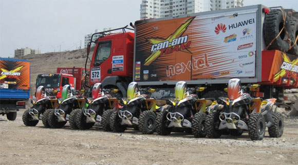 Can-Am Renegades at Dakar 2013