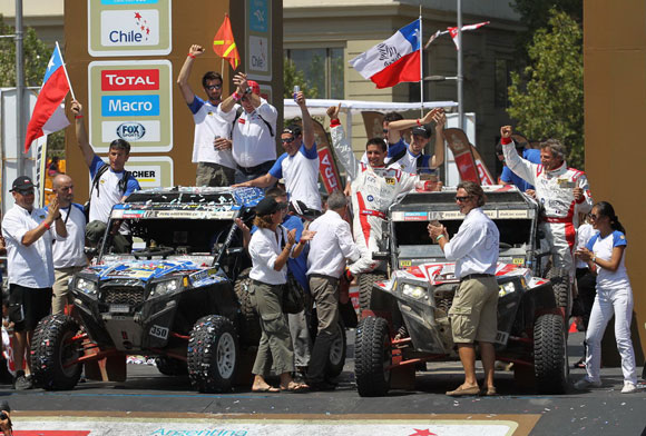 Polaris RZR XP Dakar Rally