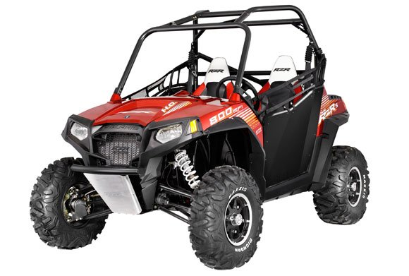 2013 Polaris RZR 800 S EPS Sunset Red