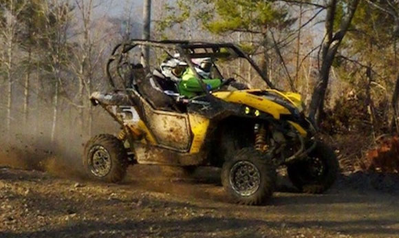 Kyle Chaney Can-Am Maverick 1000 X rs