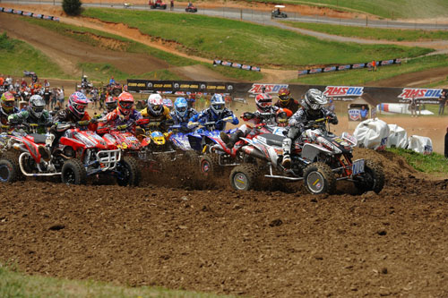 ATV Motocross Holeshot