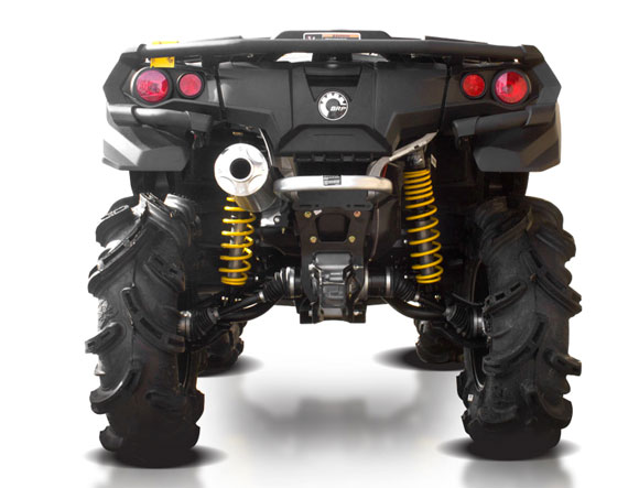 Can-Am Outlander XMR with HMF Exhaust