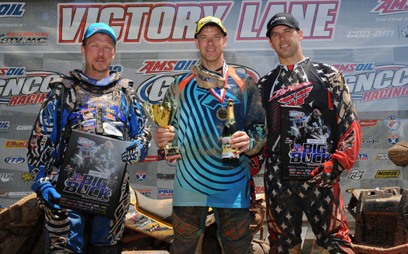 Big Buck GNCC 4x4 Podium