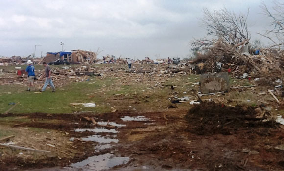 Moore Oklahoma Damage