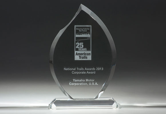 Yamaha's National Trails Award