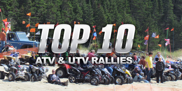 Top 10 ATV and UTV Rallies