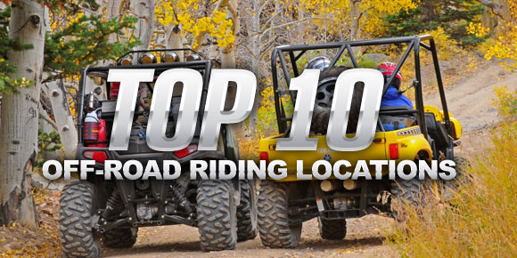 Top 10 Off-Road Riding Locations