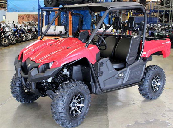 Yamaha Viking with STI Tires
