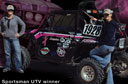 Mint 400 Champ Sporting Pink Ribbon at Off-Road Expo