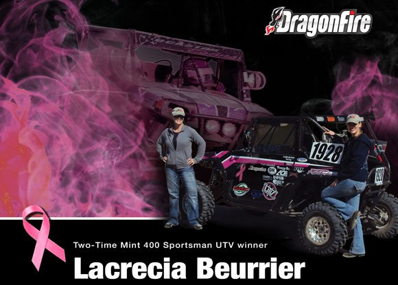 DragonFire Racing Pink Ribbon
