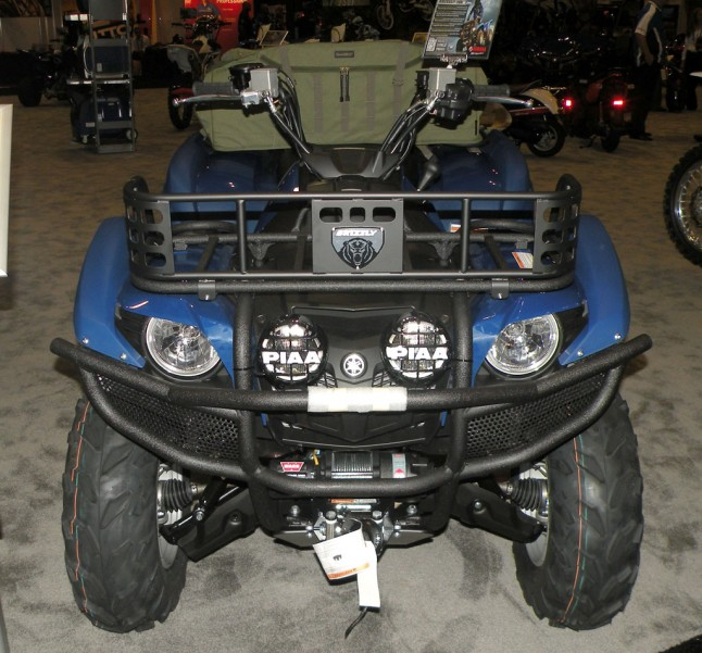 Yamaha Grizzly Utility Package Front