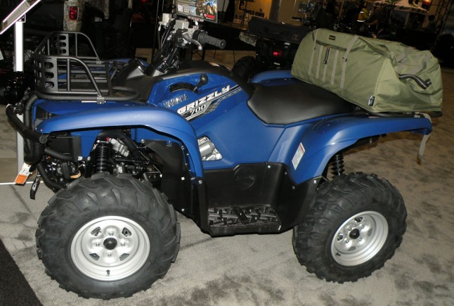 Yamaha Grizzly Utility Package Left Side
