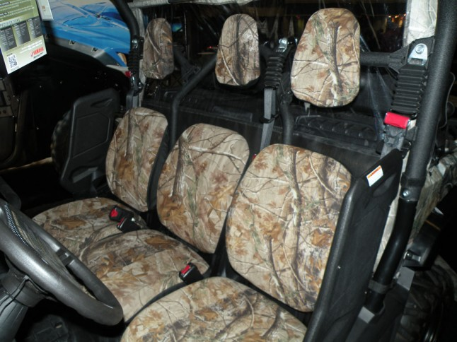 Yamaha Viking Hunting Setup Seats