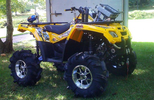 Lifted Can-Am Outlander
