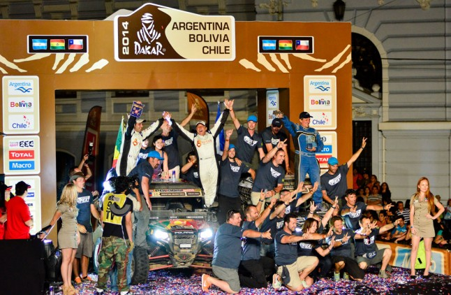 Willy Alcaraz Dakar Polaris RZR Celebration