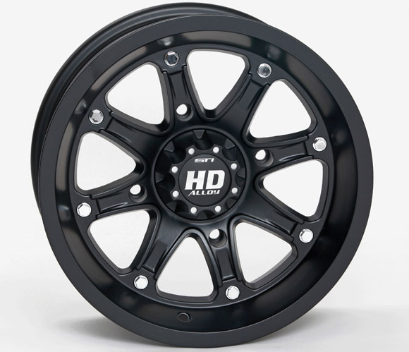 STI HD4 Ltd. Matte Black Wheel