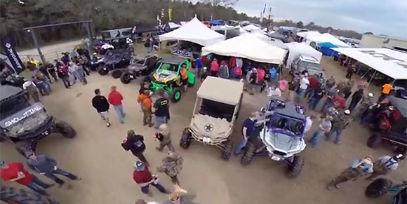 2014 Mud Nationals Aerial