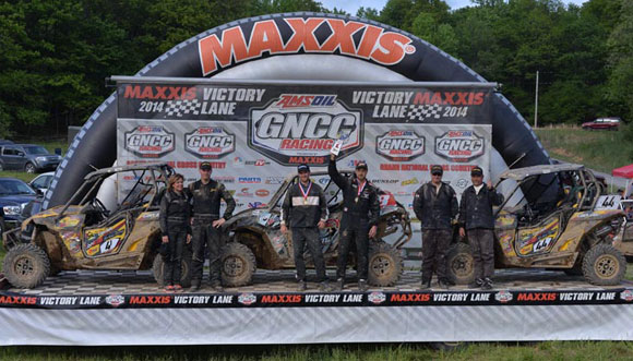 Can-Am Maverick GNCC Podium