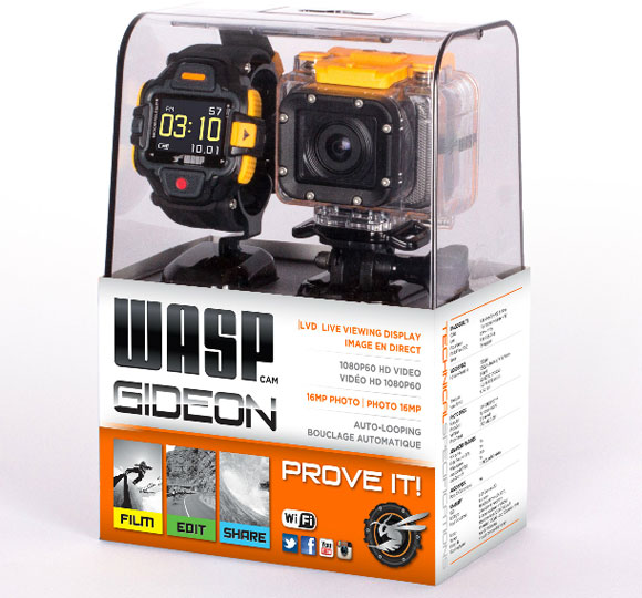 WASPcam Gideon Package