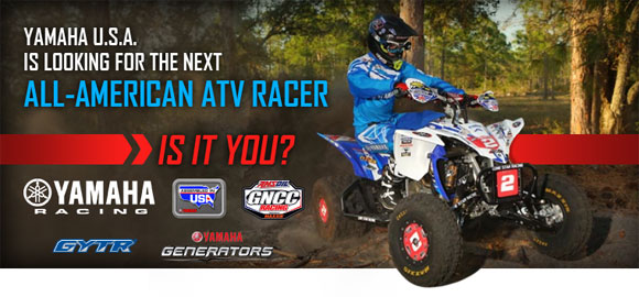Yamaha All-American ATV Racer Contest