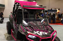 Polaris Donates Pink RZR XP 1000 to American Cancer Society