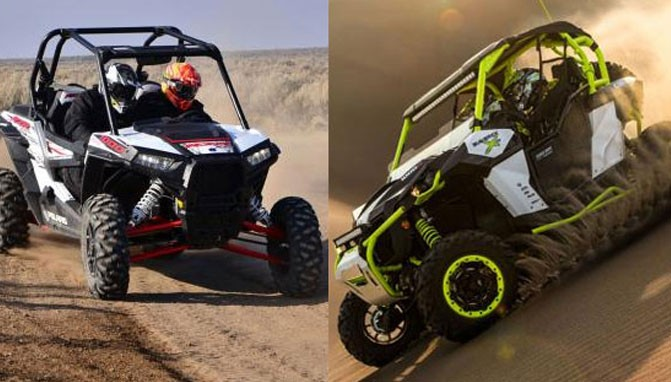 2015 Can-Am Maverick X ds Turbo vs  Polaris RZR XP 1000 EPS - ATV com