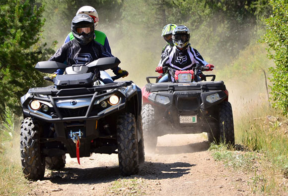Two Up ATVs