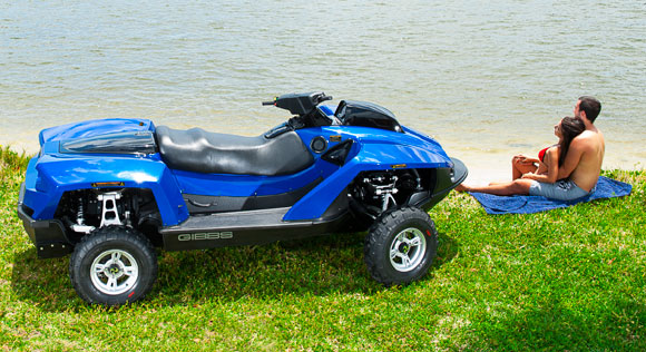 Gibbs Quadski ATV Mode