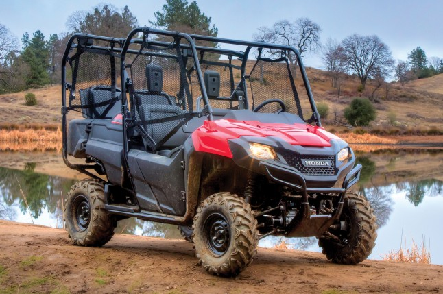Honda Pioneer Beauty