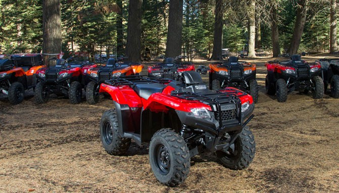 Honda 420 Rancher >> 2015 Honda Fourtrax Rancher Review Atv Com