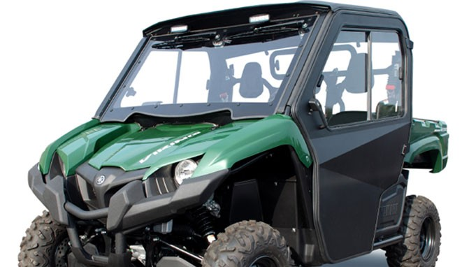 Curtis Introduces Yamaha Viking Cab System - ATV com
