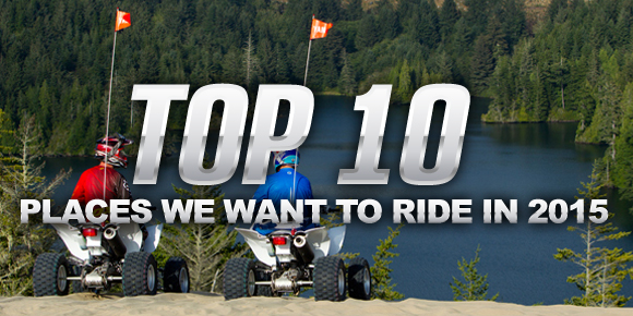 Top 10 Places We Want To Ride