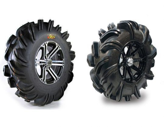 Highlifter Outlaw and Outlaw 2 ATV Mud Tires