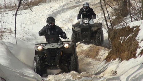 2015 Polaris Sportsman 570 EPS vs. Can-Am Outlander L 500 DPS