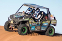 Kawasaki #TeryxGirls Complete Rally Race in Africa